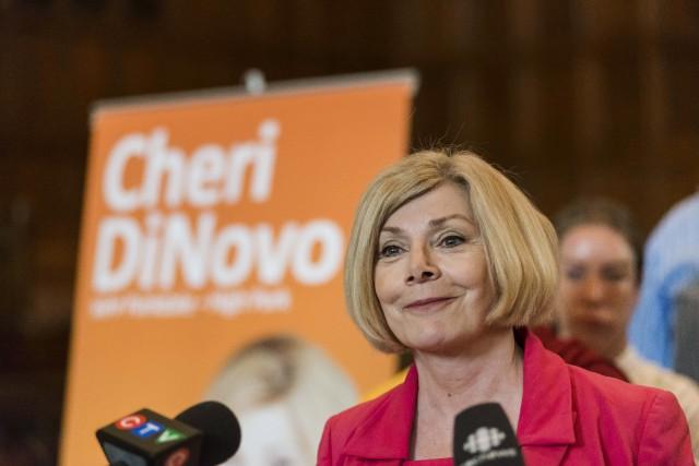 Cheri DiNovo... (La Presse Canadienne, Christopher Katsarov)