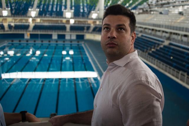 Le ministre brésilien des sports, Leonardo Picciani.... (Photo Vanderlei Almeida, AFP)