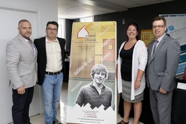 La Maison de l'Espoir Saguenay-Lac-Saint-Jean a célébré ses... ((Photo Progrès-Dimanche, Jeannot Lévesque))
