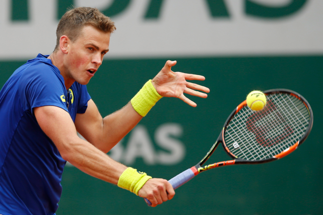 Vasek Pospisil... (Photo archives AP)