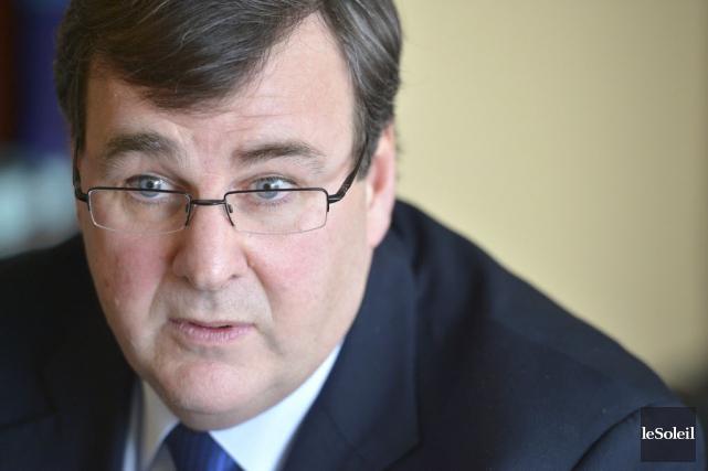 François Blais, ministre de l'Emploi et de la... (Archives, Le Soleil)