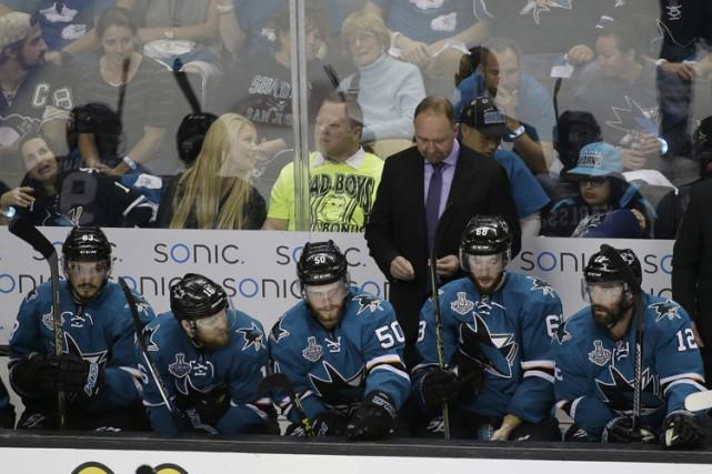 Les Sharks ont un dossier de 10-3 depuis... (PHOTO AP)