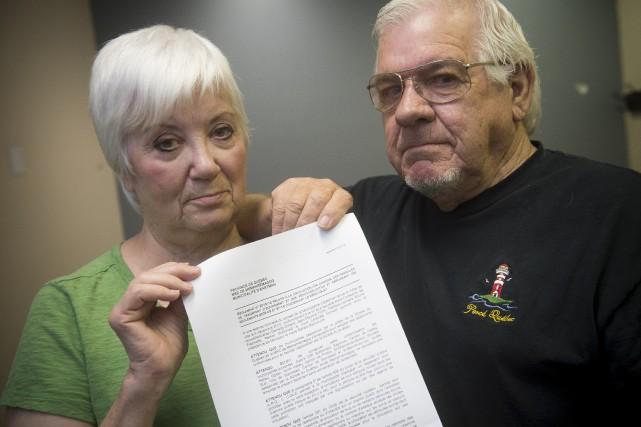 Monique Frigola et Gilbert Dubois réclament de pouvoir... (Spectre Média, René Marquis)