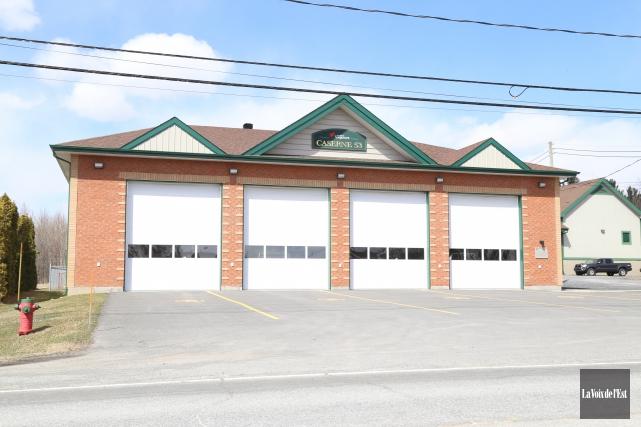 La caserne des pompiers de Rougemont ne sera... (archives La Voix de l'Est)