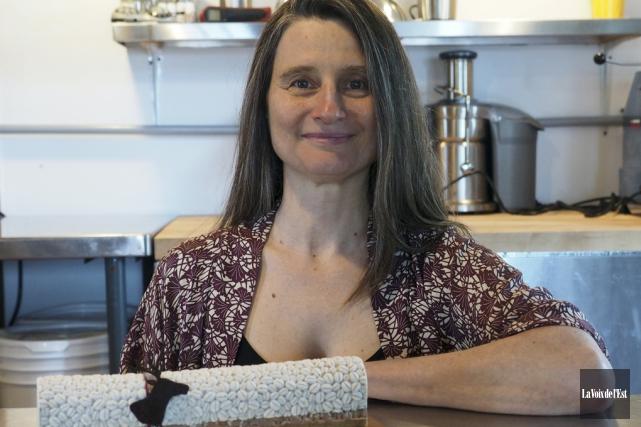Les projets se multiplient pour Suzanne Cazelais, propriétaire... (Alain Dion, La Voix de l'Est)
