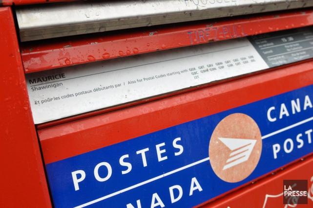 Postes Canada connaît des problèmes informatiques, ce qui... (Photo d'archives)