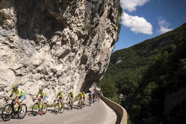 Le Critérium du Dauphiné se déroule jusqu'au 12... (Photo AFP, Lionel Bonaventure)