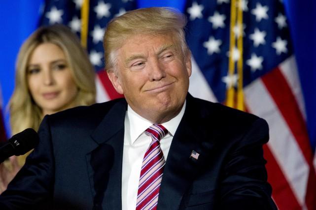 Depuis près de deux semaines, Donald Trump s'en... (AP, Mary Altaffer)