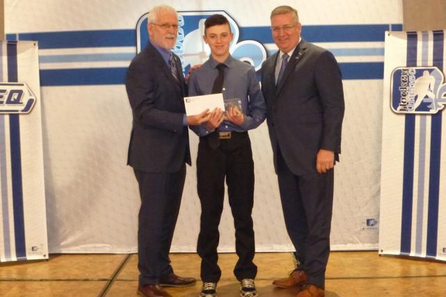 Vincent Filion a été récompensé pour son rendement...