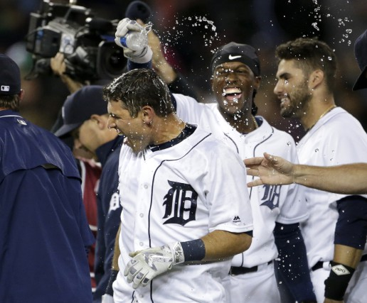 Les Tigers de Detroit ont soutiré un gain... (Associated Press)