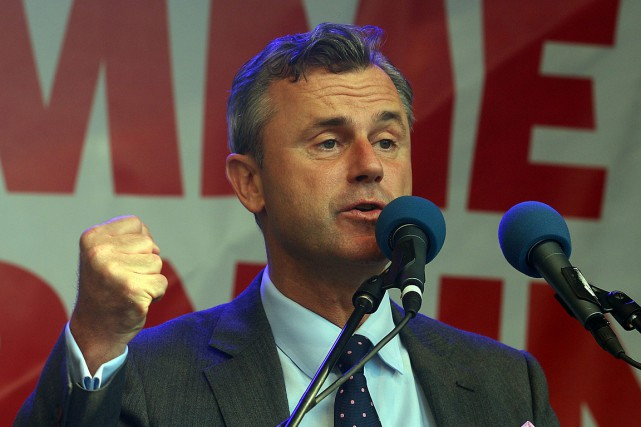 Le candidat du FPÖ, Norbert Hofer, avait recueilli... (Photo Ronald Zak, AP)