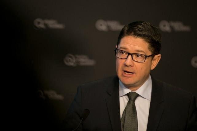 Éric Martel, président d'Hydro-Québec,doit rendre public aujourd'hui le«Plan... (PHOTO FRANÇOIS ROY, ARCHIVES LAPRESSE)
