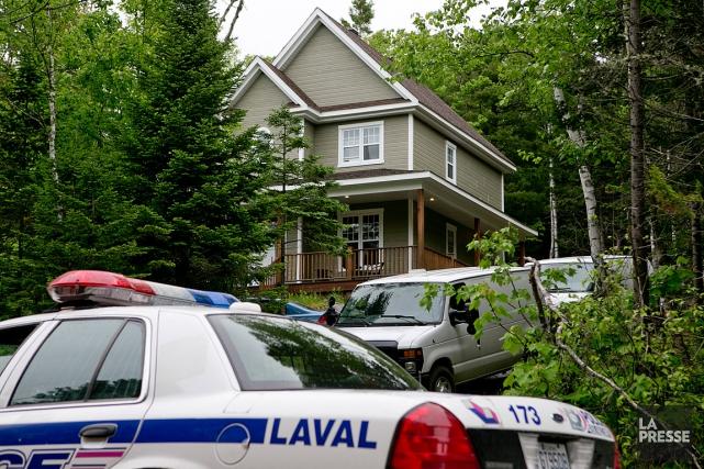 Les policiers de Laval profitent de l'aide de... (PHOTO DAVID BOILY, LA PRESSE)