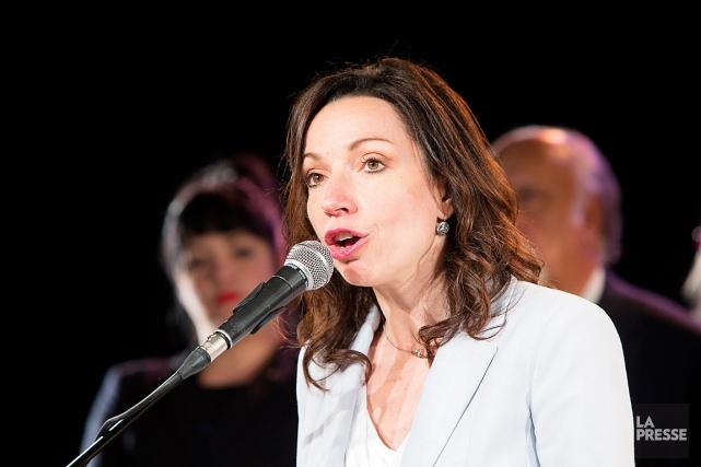 La députée de Vachon et candidate dans la... (PHOTO ALAIN ROBERGE, ARCHIVES LA PRESSE)