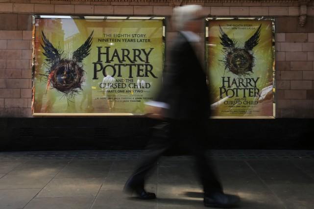 La première répétition publique de Harry Potter et l'enfant maudit,... (Agence France-Presse)