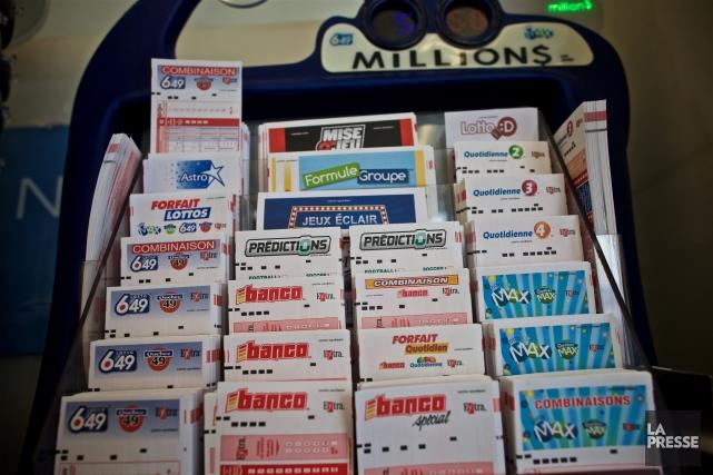 Les recettes tirées de la loterie sont passées... (PHOTO ANDRÉ PICHETTE, LA PRESSE)