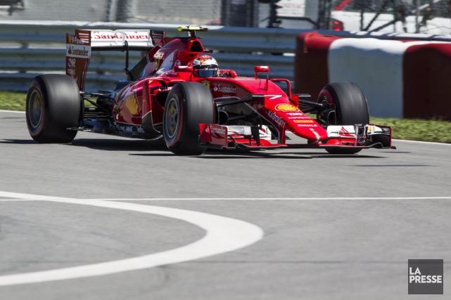 Kimi Räikkönen, en 2015... (Photothèque La Presse, Olivier Pontbriand)