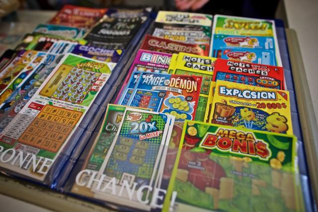 Les détaillants de billets de loterie se plaignent... (PHOTO ANDRÉ PICHETTE, LA PRESSE)