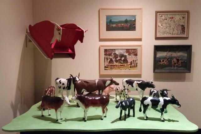 L'exposition De l'étable au musée présente une impressionnante... (Photo Aglaë Gauthier-Poitras, fournie par le Musée de Charlevoix)