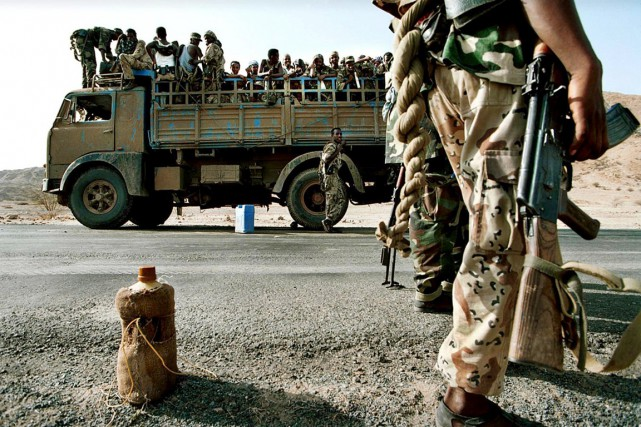 L'obligation de servir indéfiniment l'armée est un des... (PHOTO STEVE FORREST, ARCHIVES AFP)