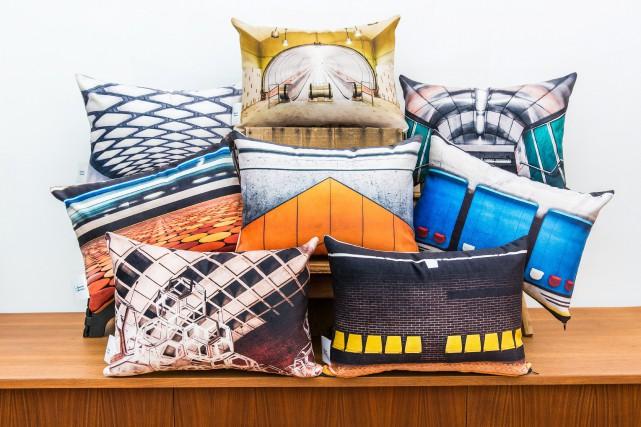 Fotofibre propose une nouvelle collection de coussins colorés,... (PHOTO FOURNIE PAR FOTOFIBRE)
