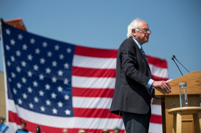 Bernie Sanders... (photo Kristina Barker, associated press)