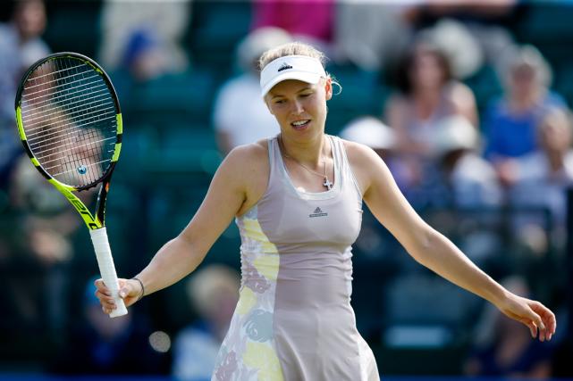 Caroline Wozniacki... (Photo Peter Cziborra, Reuters)