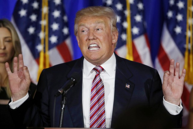 Donald Trump... (PHOTO Carlo Allegri, REUTERS)
