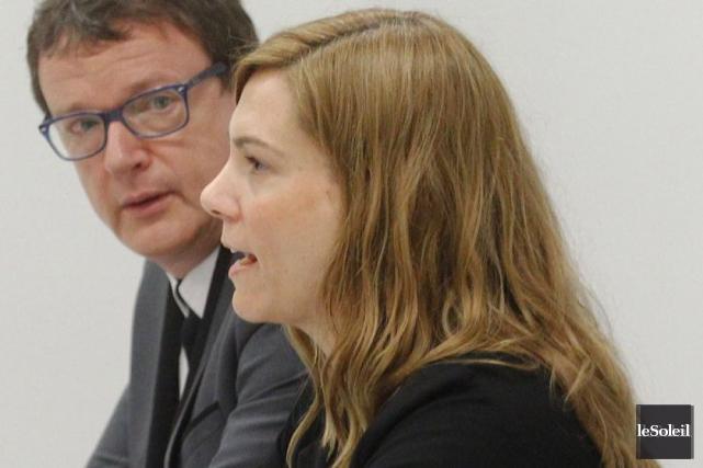 Pascale St-Onge, secrétaire générale de la Fédération nationale... (Photo Le Soleil)