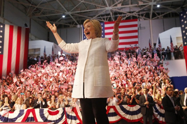 La candidate démocrate doit encore trouver les moyens... (PHOTO REUTERS)