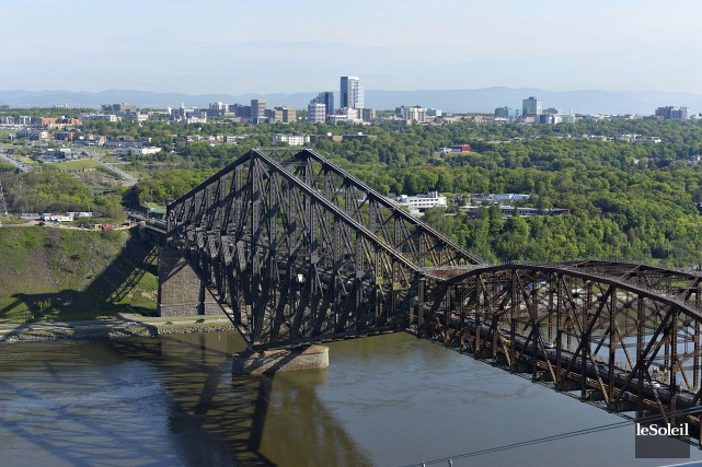 ÉDITORIAL / La corrosion n'est pas le véritable problème du pont de Québec. La... (Photothèque Le Soleil, Patrice Laroche)