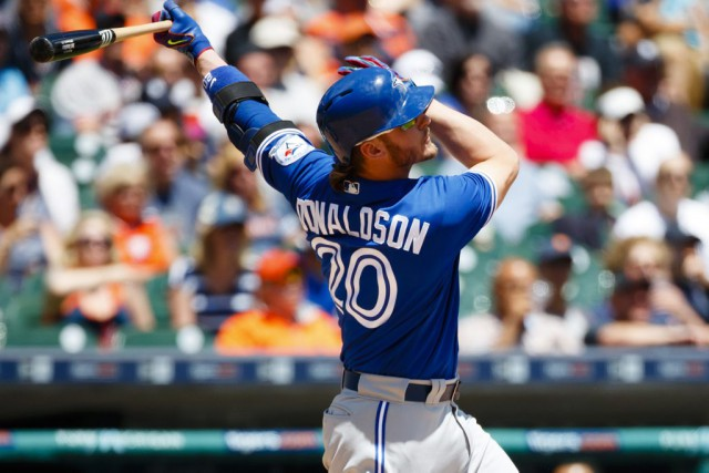 Josh Donaldson... (PHOTO Rick Osentoski, USA TODAY Sports)