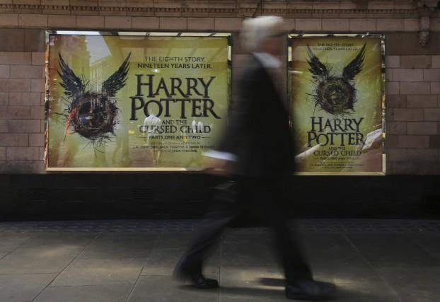 La pièce Harry Potter et l'enfant maudit, qui fait un triomphe à Londres... (PHOTO ARCHIVES AP)