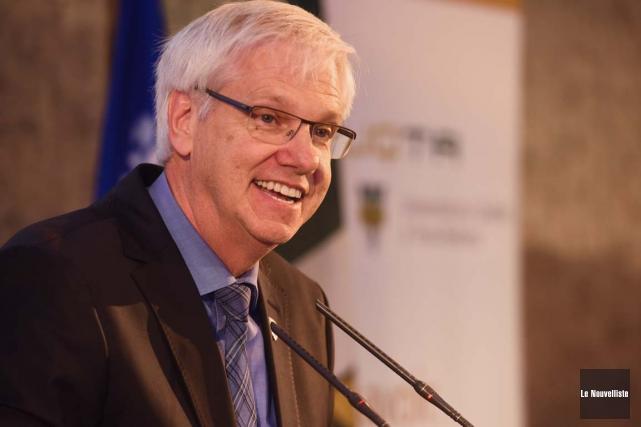 Le recteur de l'UQTR Daniel McMahon.... (François Gervais, Le Nouvelliste)