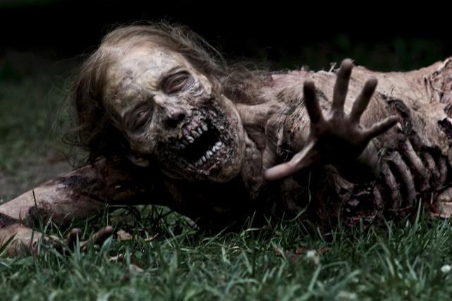 The Walking Dead, diffusée sur AMC, est depuis... (AMC)