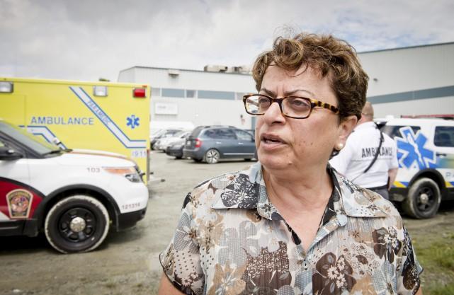 La directrice du Centre de tri de Sherbrooke... (Spectre Média, Jessica Garneau)