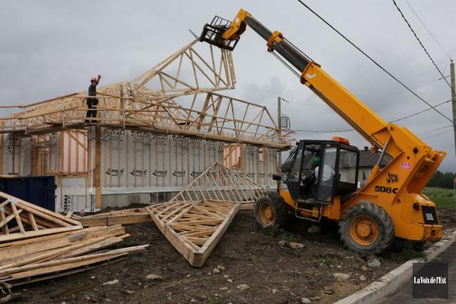 Permis de construction à Trois-Rivières: en avance sur l'an... (La Voix de l'Est)
