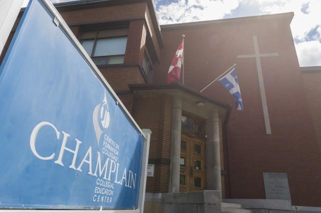 Le Collège régional Champlain (CRC) de Lennoxville entend... (Spectre Média, Marie-Lou Béland)