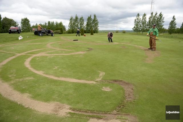 Le Club de golf Port-Alfred offre une récompense... (Photo Le Quotidien, Jeannot Lévesque)