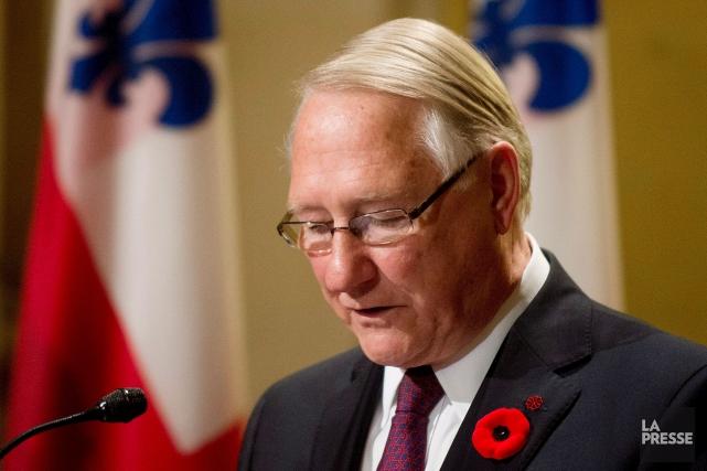 L'ancien maire de Montréal, Gérald Tremblay, amorce son... (Archives La Presse)