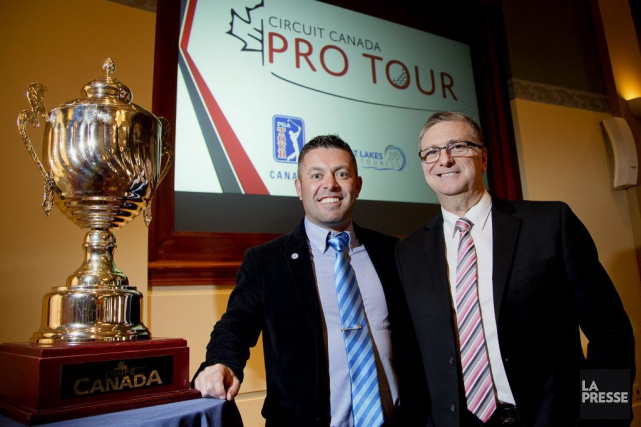 Le golfeur par excellence du Québec depuis cinq... (Alain Roberge, La Presse)