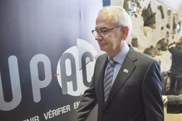 Le commissaire de l'UPAC, Robert Lafrenière... (Archives, La Presse canadienne)