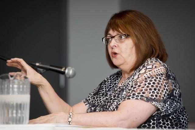 Marie Bécotte, directrice générale de La Maison Aube-Lumière,... (Spectre Média, Jessica Garneau)