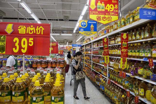 La Chine est engagée dans un ambitieux rééquilibrage... (Photo archives AP)