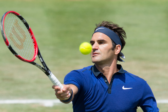 Roger Federer... (Photo Thomas Kienzle, AFP)