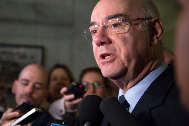 Le ministre des Transports,de la Mobilité durable et... (Photo Jacques Boissinot, archives PC)