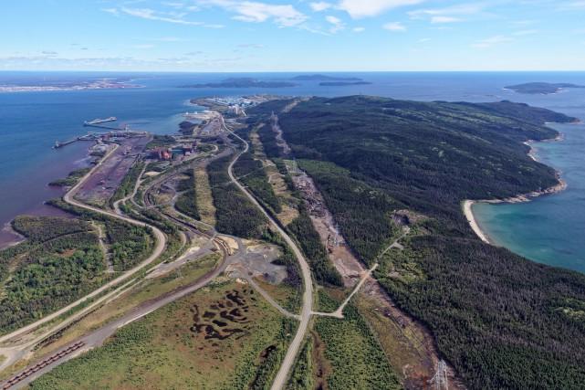 L'État a mis la main sur les actifs... (Port de Sept-Îles)