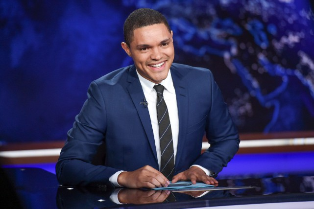 Trevor Noah sera à Montréal le 24 septembre.... (Photo archives Associated Press)