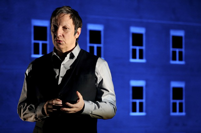 Robert Lepage, dans 887.... (Photo archives Agence France-Presse)