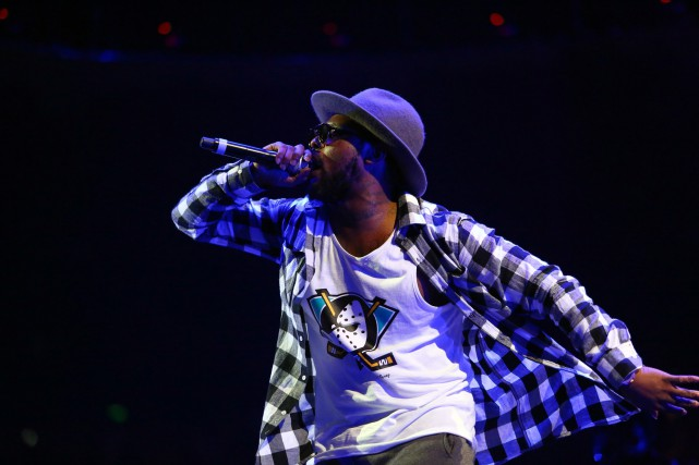 Schoolboy Q donnera un concert extérieur gratuit sur le... (Photo archives Associated Press)